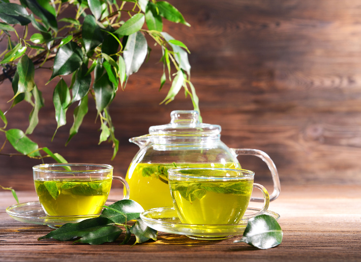 Green Tea and l-Theanine Effects on Cognition and Attention During Stress